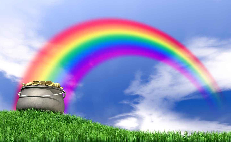 Gold Rainbow