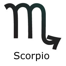 Scorpio star sign of the zodiac in astrology